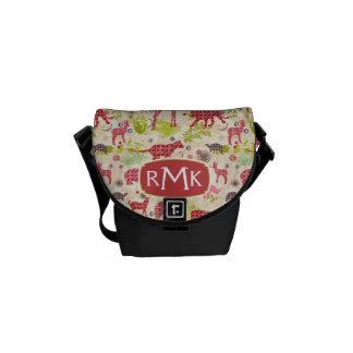 Jungle paradise | Monogram Messenger Bag