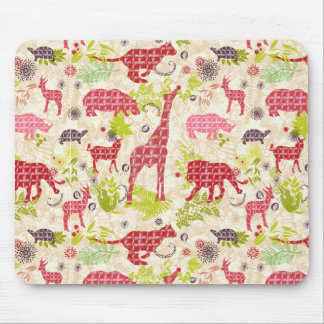 Jungle paradise mouse pad