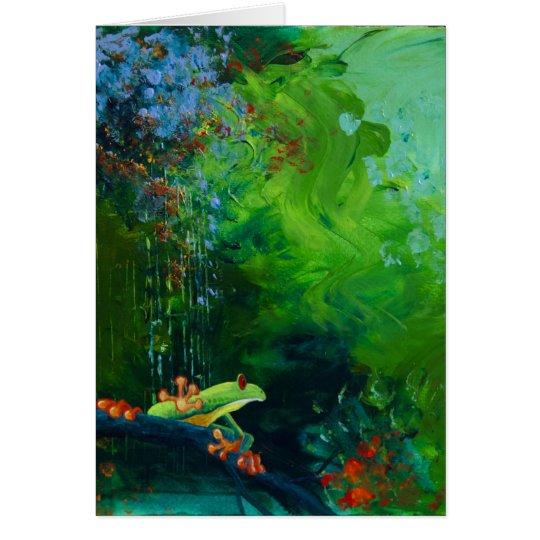 Jungle Rains I Card