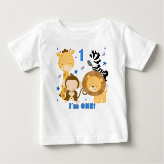 Jungle Safari 1st Birthday T-shirt