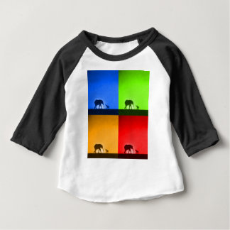 jungle safari baby tee shirt