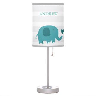 Jungle Safari Elephant Nursery Kids Room Lamp