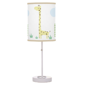 Jungle Safari Nursery Kids Room Lamp