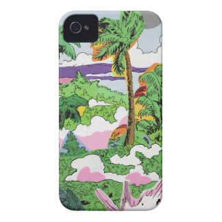 Jungle Smoke iPhone 4 Case