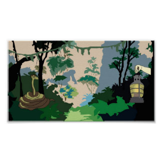 Jungle Snake Poster