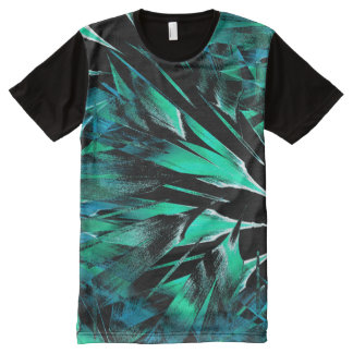 Jungle sniffing (jade-stone) All-Over-Print T-Shirt