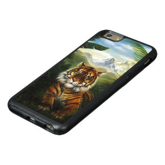 Jungle Tiger Landscape OtterBox iPhone 6 Plus Case