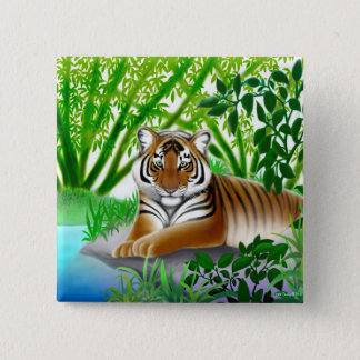 Jungle Tiger Pin