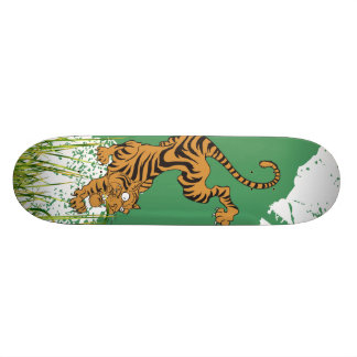 Jungle Tiger Skate Decks