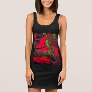 Jungle Vine Sleeveless Dress