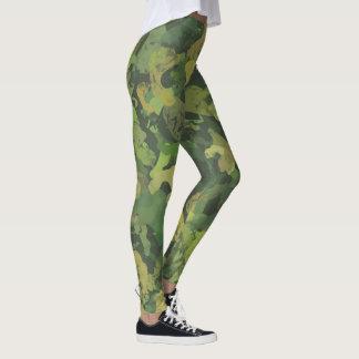 Jungle Warrior Camo Leggings