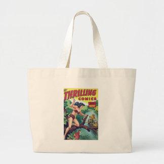 Jungle Woman Large Tote Bag