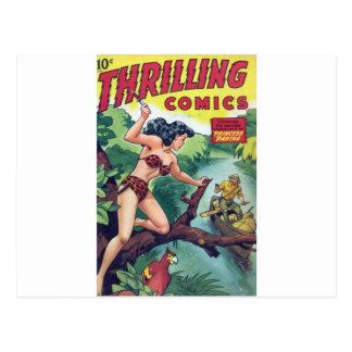 Jungle Woman Postcard