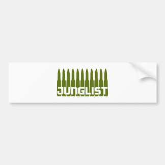 Junglist Green Bumper Sticker