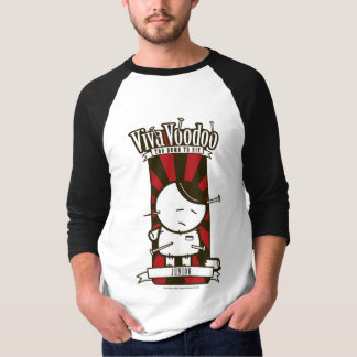 """Junior"" baseball-style t-shirt"