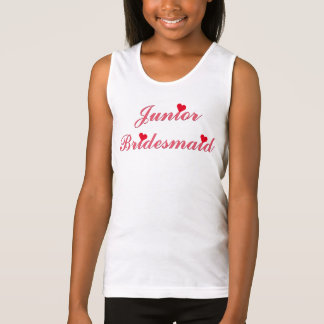 Junior Bridesmaid Bridal Shower Wedding Tank Top