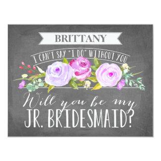 Junior Bridesmaid Card | Bridesmaid