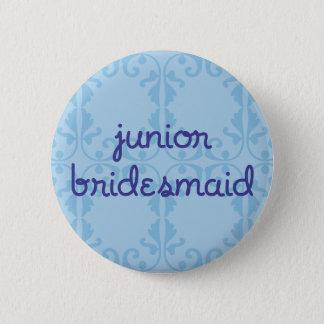 Junior Bridesmaid (Design 3) 2 Inch Round Button