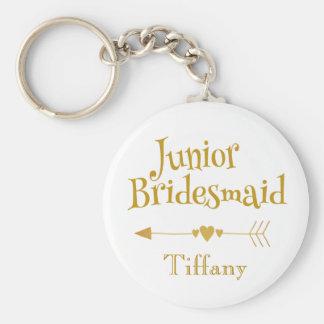 Junior Bridesmaid Gifts Keychain