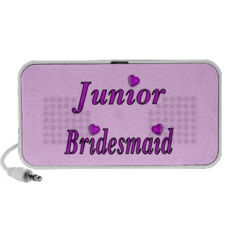 Junior Bridesmaid Simply Love Notebook Speaker