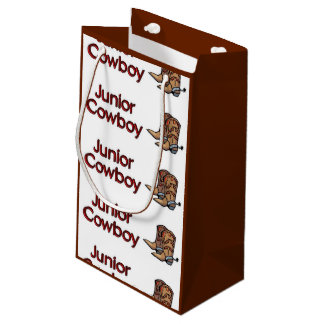 Junior Cowboy Small Gift Bag