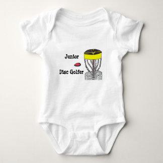 Junior Disc Golfer baby bodysuit