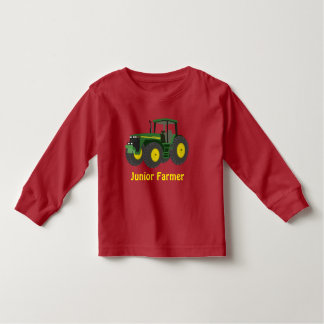 """Junior Farmer"" and green tractor Toddler T-shirt"
