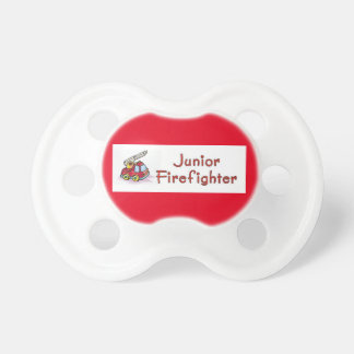 Junior Firefighter Baby Pacifiers