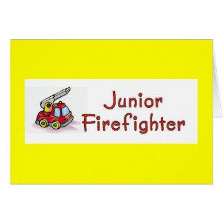 Junior Firefighter Invitation