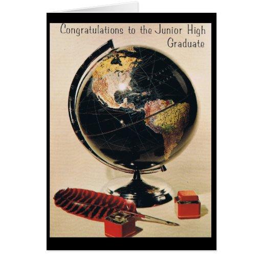 Junior High Graduation Greeting Cards