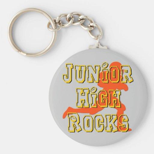 Junior High Rocks - Football Key Chains