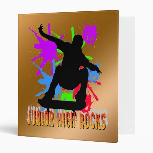 Junior High Rocks - Skateboarder Binder
