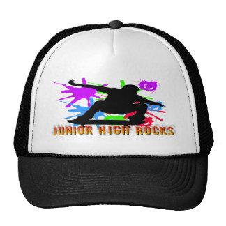 Junior High Rocks - Skateboarder Hats