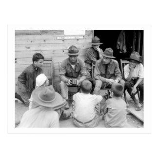 Junior Marines, 1919 Postcard