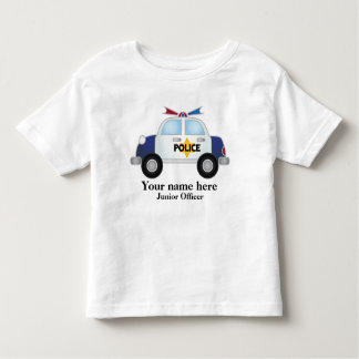 Junior Officer Police Car t shirt