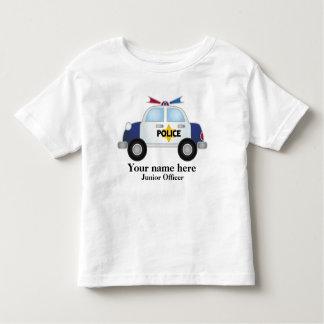 Junior Officer Police Car t shirt