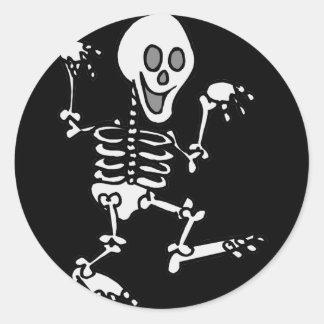 junior spook! classic round sticker