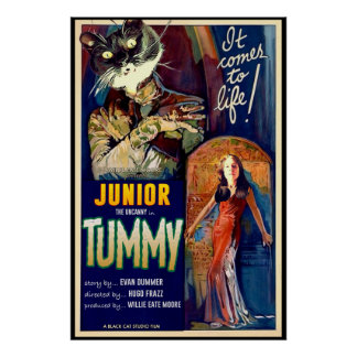 Junior the Uncanny in The Tummy! Poster