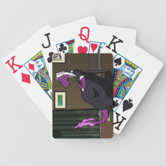 Junior's Mother Bicycle Playing Cards