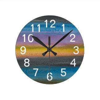 Juniper Mist I Round Clock