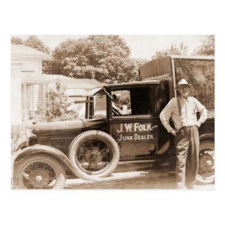Junk Dealer Postcard