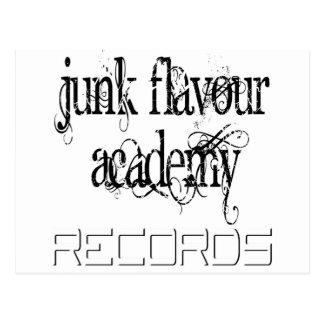 Junk Flavour Academy Rec Postcard