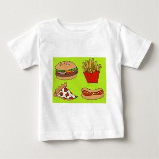 Junk food design baby T-Shirt