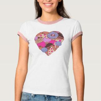 Junk Food Heart Tee Shirts