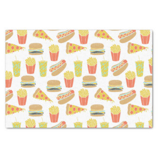 Junk Food - Hot Dogs Burgers Fries / Andrea Lauren Tissue Paper