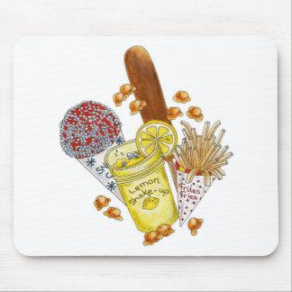 Junk Food Junkie! - Mousepad Mouse Pad
