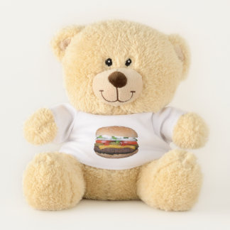 Junk Food Junkie Soft Teddy Bear