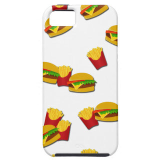 Junk food pattern iPhone 5 cases