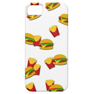 Junk food pattern iPhone 5 covers