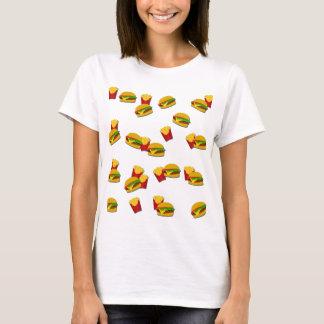 Junk food pattern T-Shirt